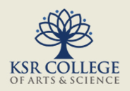 KSR College of Arts and Science
