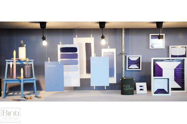 Warme kleuren van de flexa pure lijn studio binti home - Wat zijn de warme kleuren ...
