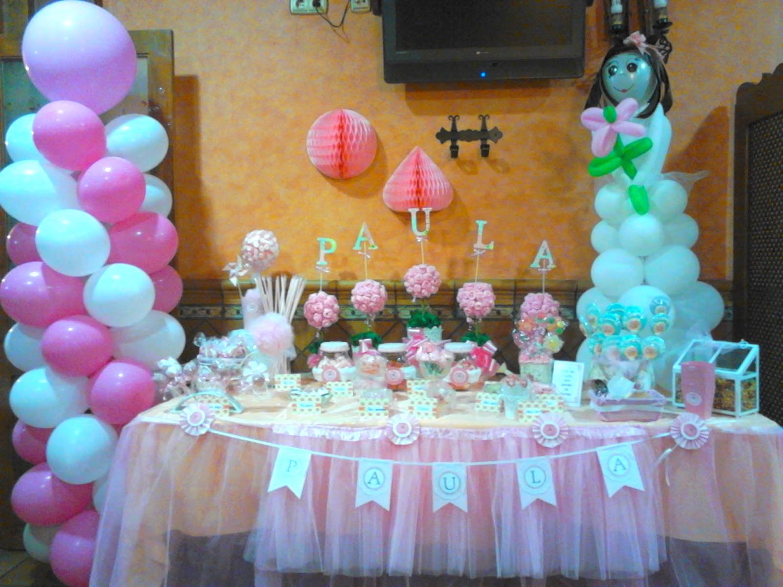 El desv n de meme mesa de chuches decorada para paula en - Mesas para comuniones ...