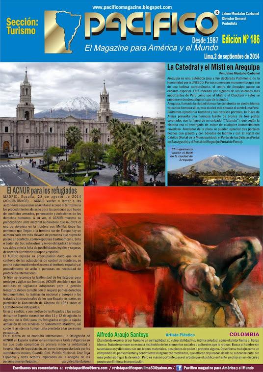 Revista Pacífico Nº 186 Turismo