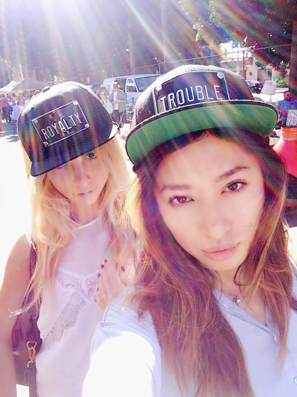 girls, hat
