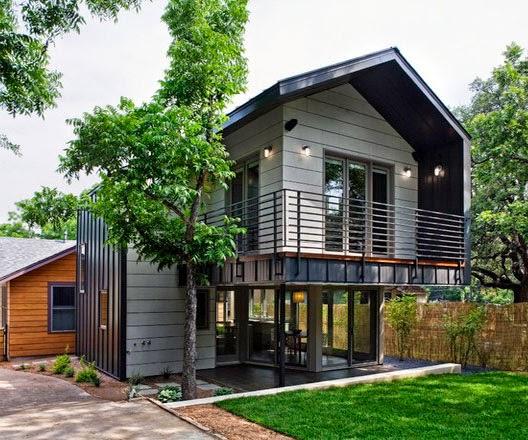 10 model rumah sederhana 2 dua lantai terbaru 2015