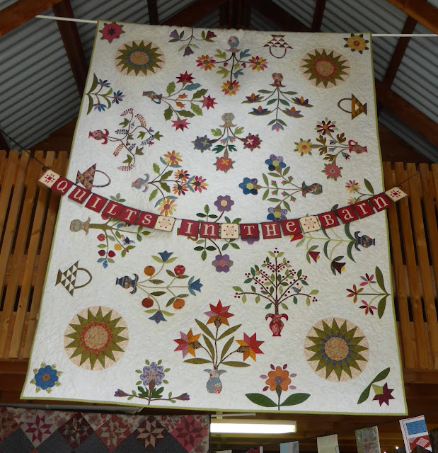 Quilts in the Barn 2015 Isabelle quilt
