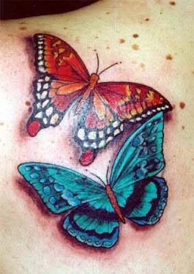Butterfly Tattoos on the Shoulder-19