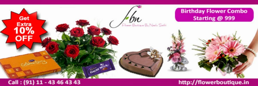 Birthday Flowers and Gifts Delivery - FBN Flower Boutique