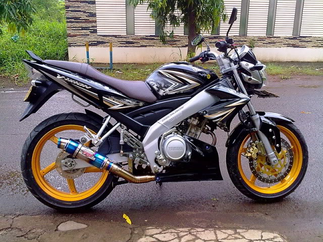Modifikasi motor  3 Modification Yamaha V ixion Full Fairing minimalis