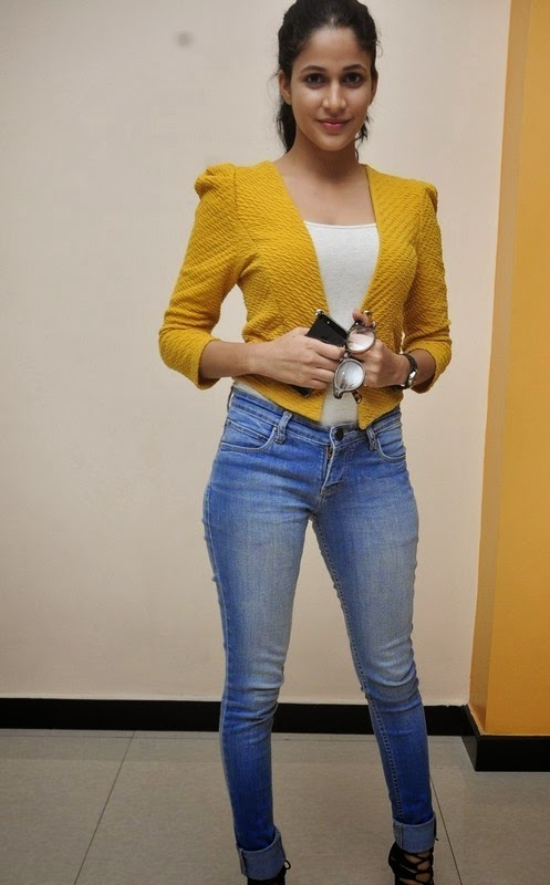 Lavanya Tripathi In Yellow Top New Stills