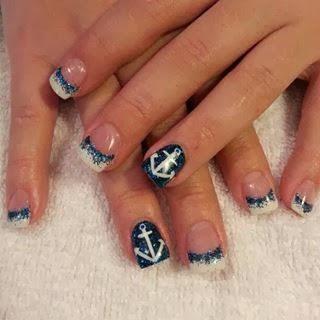 acrylic sculpts gel nail polish manicure french nails nail art design