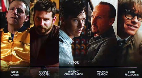 лучшая мужская роль Оскар 2015