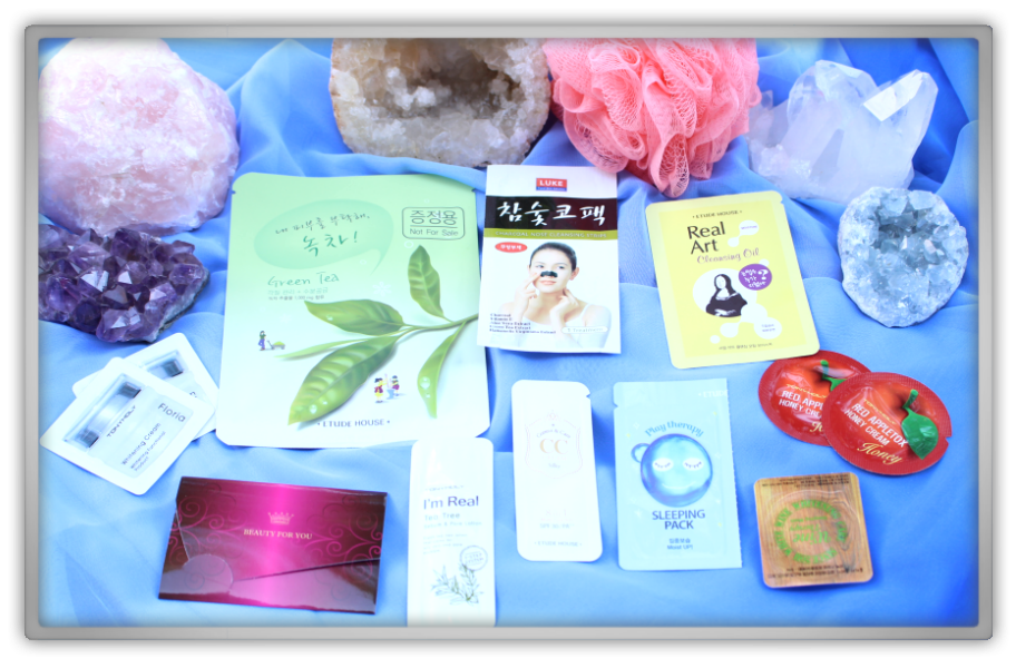 Jolse cosmetics korean haul review youtube video etude house sleeping pack  tony moly apple sample princess scrub cute pink cheap products coral