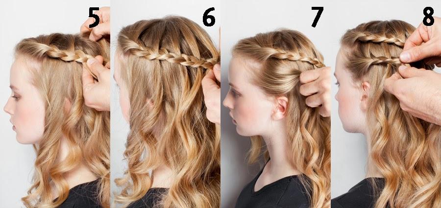 peinados para fiestas sencillos pelo suelto paso a paso