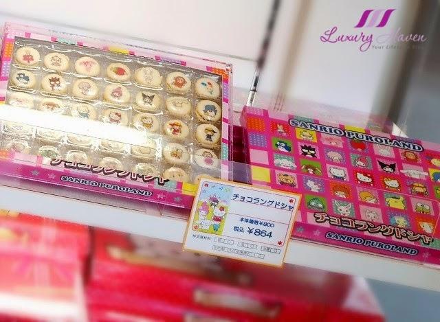 cute sanrio puroland character cookies kawaii
