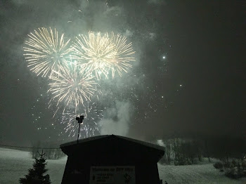 Fireworks Mark Close of  Snowtown