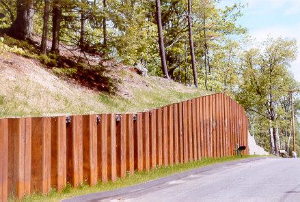 Sheet Piling Wall