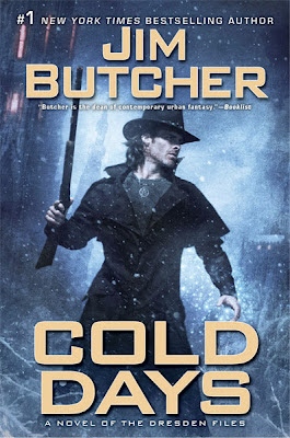 Series Review: Cold Days (The Dresden Files, Book 14), By Jim Butcher Book Cover Art