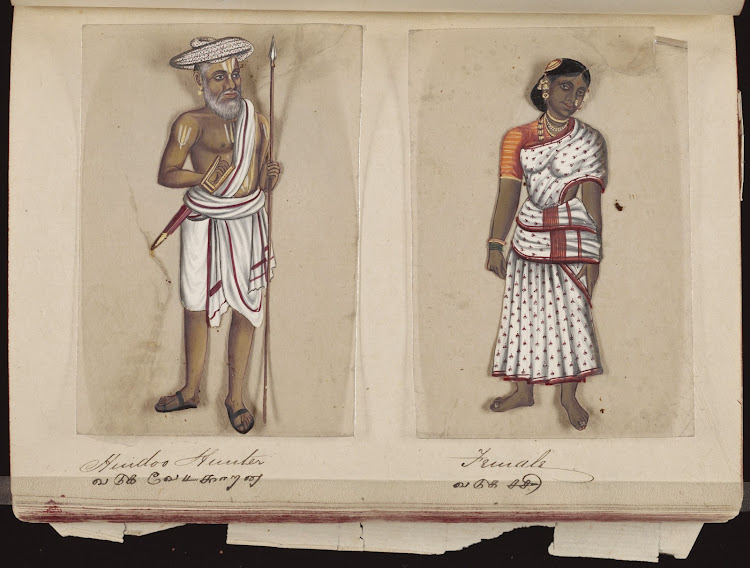Hindoo hunter and Female