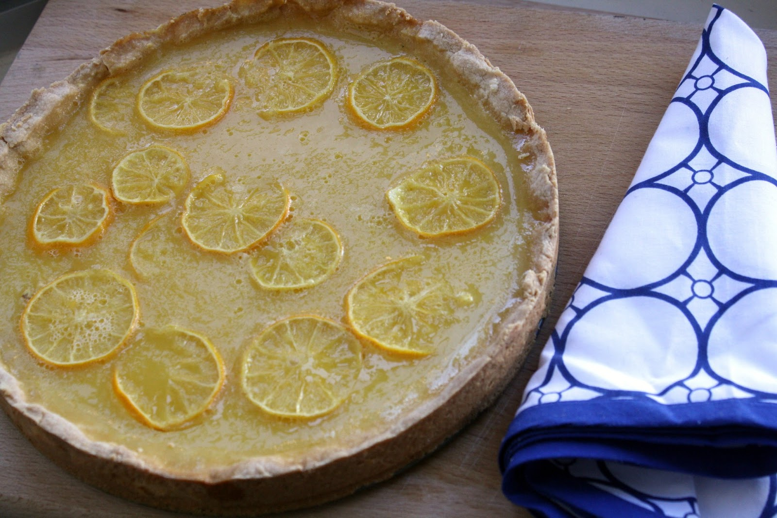 Lemon-Honey Tart With Salted Shortbread Crust Recipe ...