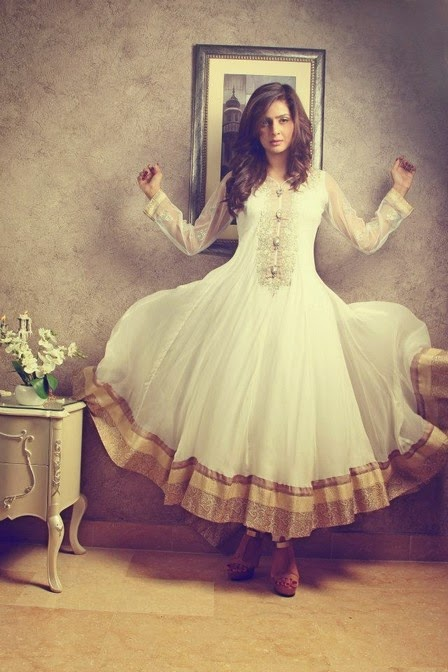 Party wear white dresses by rani siddiqi wwwfashionhuntworldblogspot 14  - Party Wear White Dresses 2014 By Rani Siddiqi