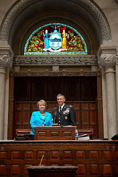 Senator Ritchie Hosts Fort Drum Brass in Albany