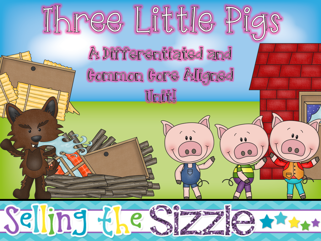 https://www.teacherspayteachers.com/Product/Three-Little-Pigs-a-Differentiated-and-Common-Core-Aligned-Fairy-Tale-Unit-1175545