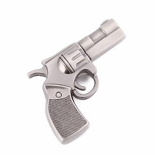 metal gun shape usb pen drive