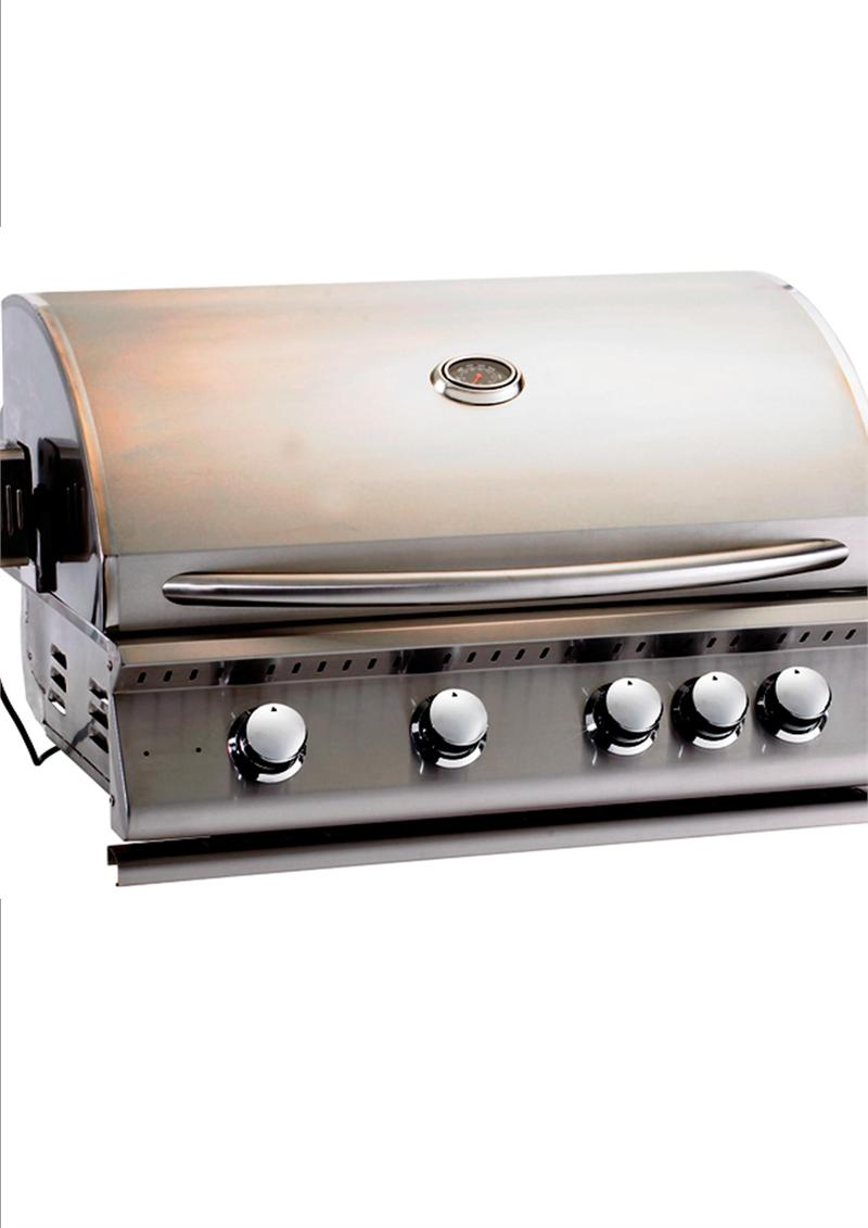 Home products steel natural gas grill stainless