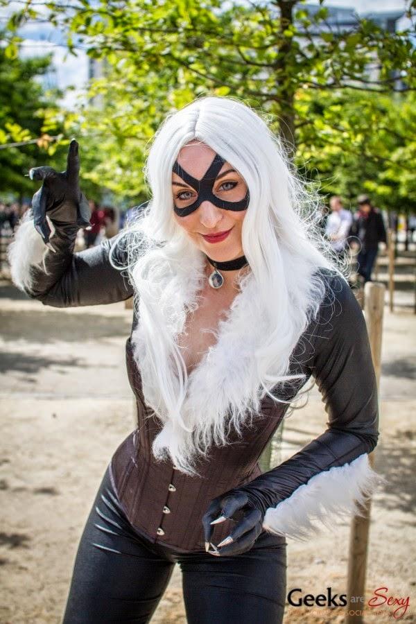 Черная Кошка cosplay