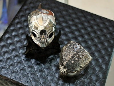Strange Freak Designs' Eyeless Skull Ring