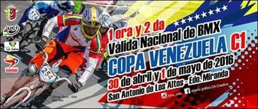 I y II Valida Nacional de BMX Copa Venezuela C1 2016