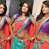 Actress Sri Vani Reddy In Saree Below Navel Stills