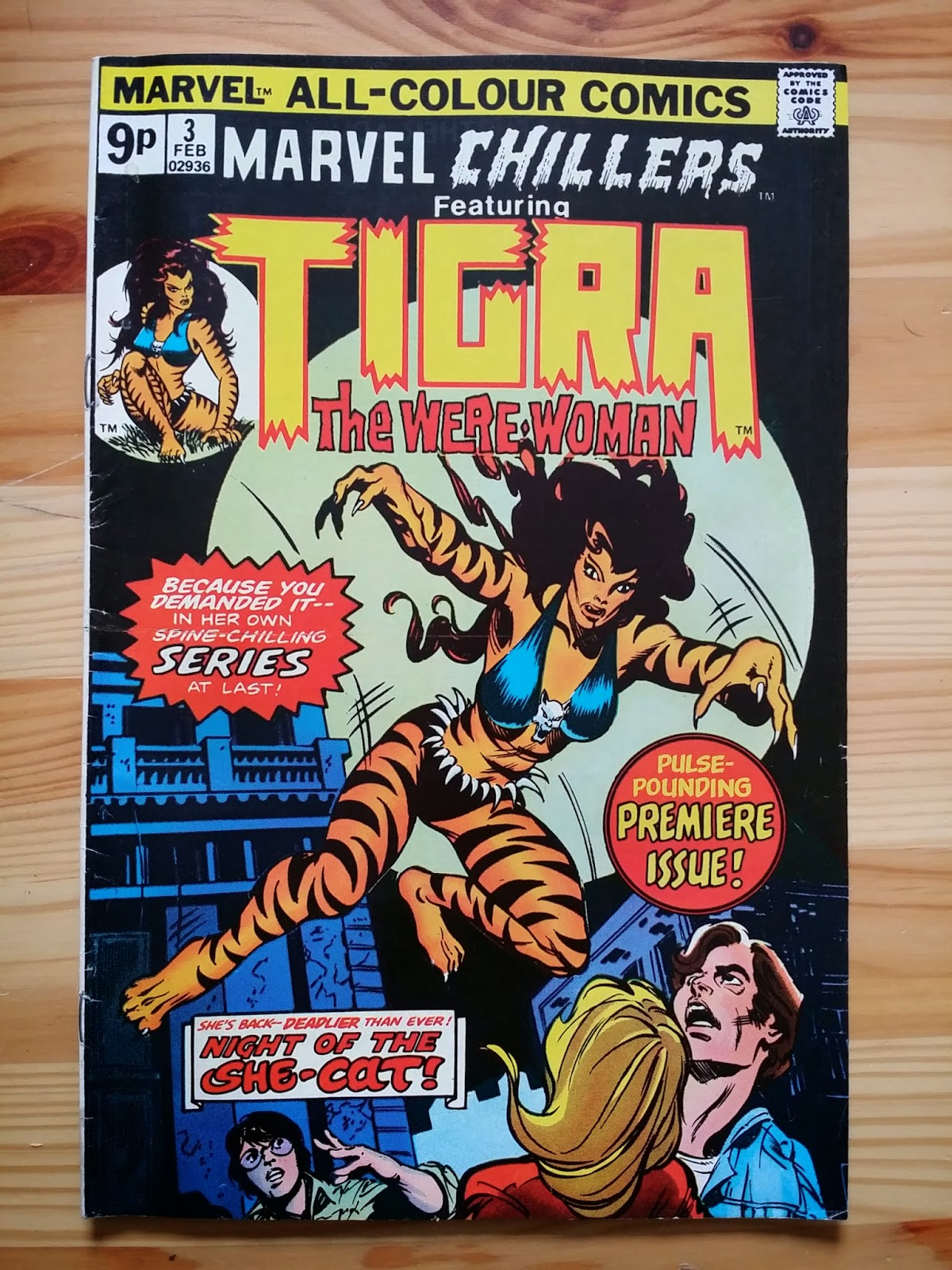 Marvel Chillers Tigra, the Were Woman