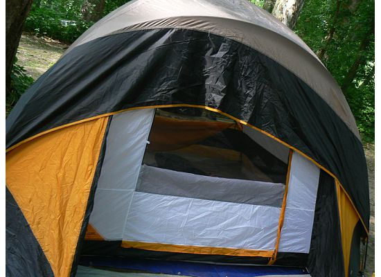 101 Days of Homeschooling: Day 7 / 101 - Camping in Tents