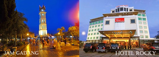 Hotel paling dekat dengan jam gadang