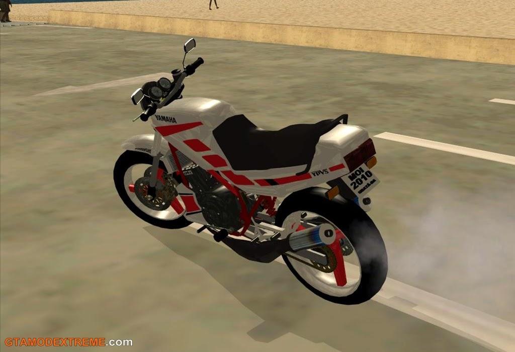 Baixar moto Yamaha RD 350 Para GTA San Andreas