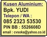 Kusen ALuminium, Pintu, Jendela & Partisi