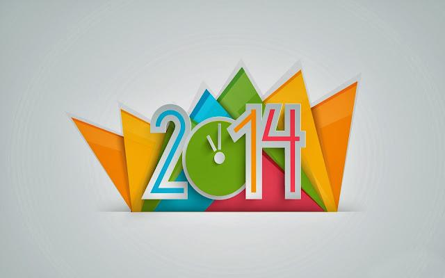 Happy New Year 2014 Theme
