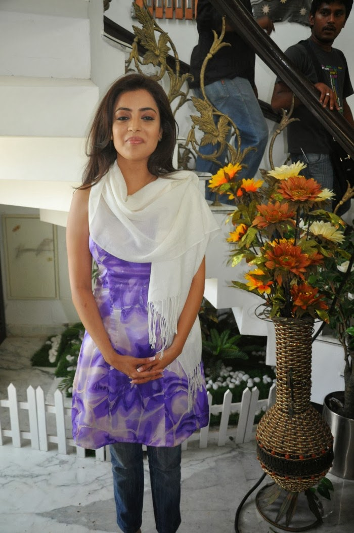 Nisha Aggarwal Hot in Blue tight Jeans