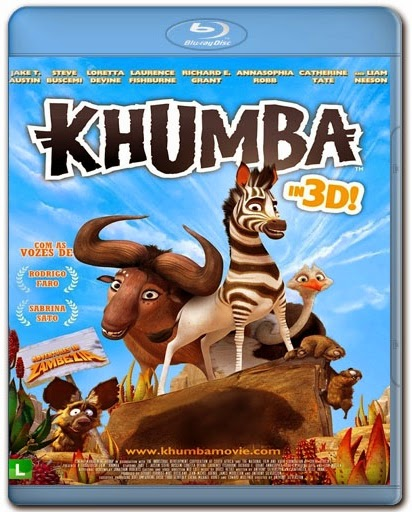 Khumba AVI BDRip Dual Audio + BRRip + Bluray 720p e 1080p + 3D