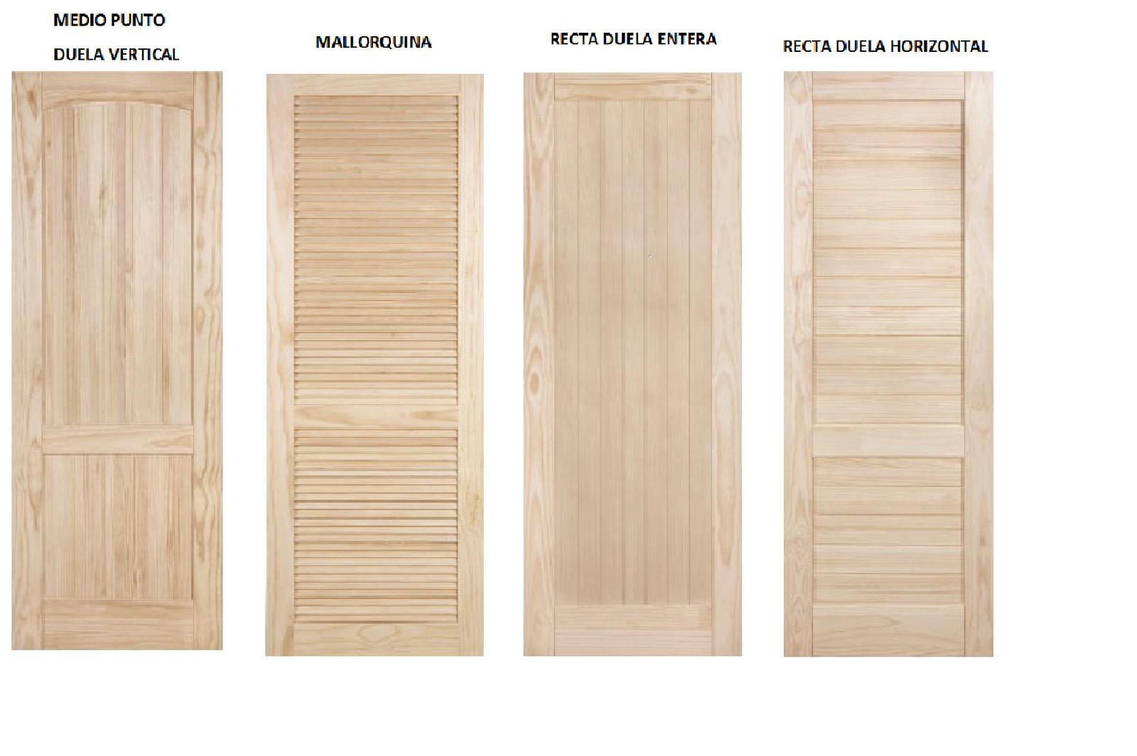Carpinter a de madera mart n torralbo puertas for Puertas de madera en oferta