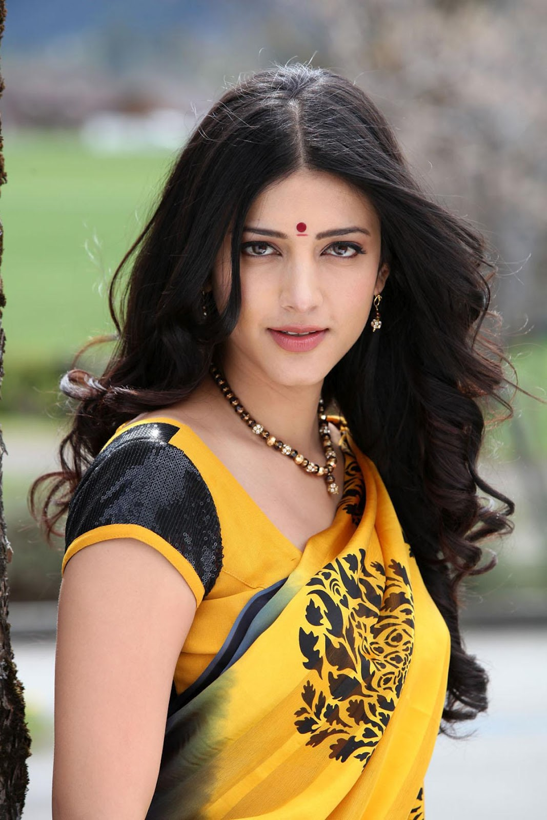 Shruti Hassan Gorgeous Stills In Saree,Shruti Hassan ...