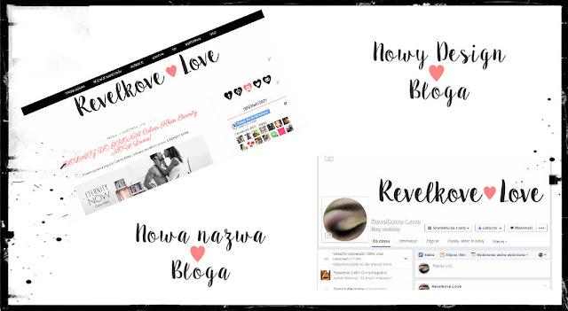 Zmiany.. zmiany... Nowy design bloga oraz nowa nazwa !