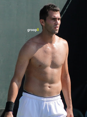 Horia Tecau Shirtless at Miami Open 2011