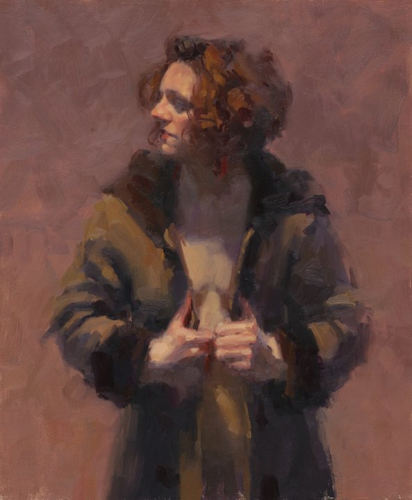 Aaron Coberly 1971   American Figurative Impressionist painter