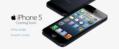 Pre-order iPhone 5 dengan Celcom hari ini