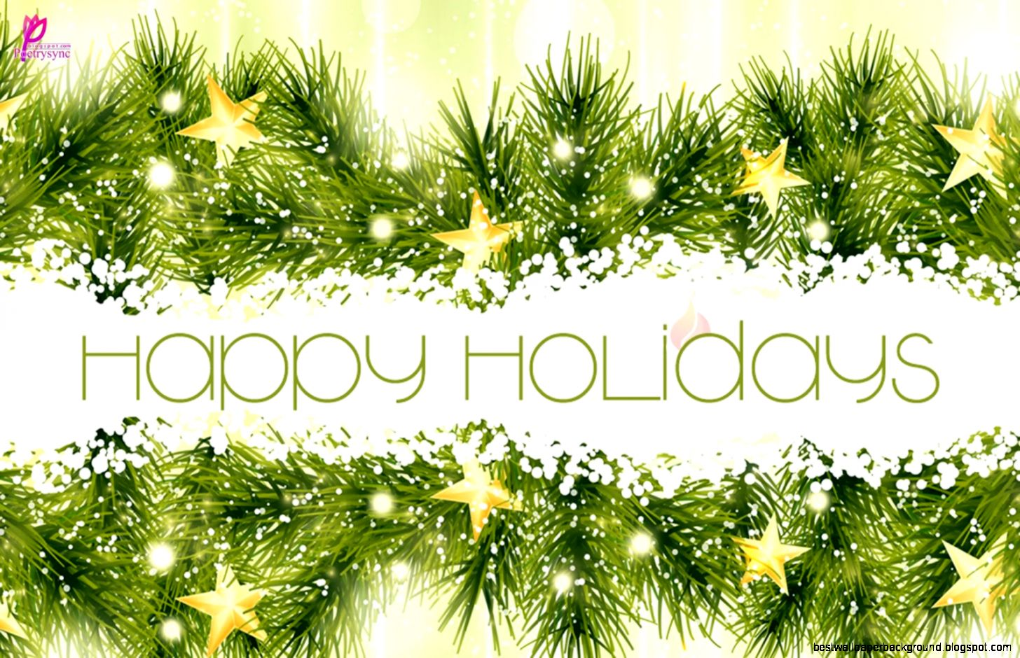 Happy Holidays Wishes Best Wallpaper Background