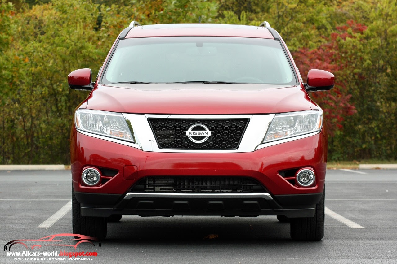 2014 Nissan Pathfinder 4X4 hd pictures