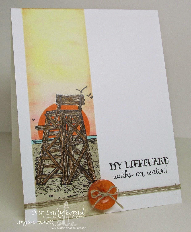 ODBD My Lifeguard, Card Designer Angie Crockett