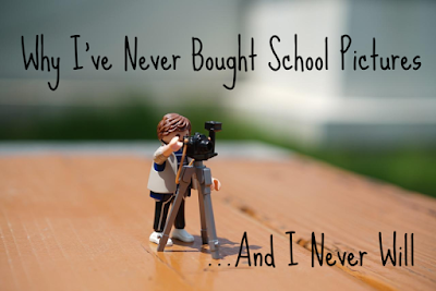 Why I've Never Bought School Pictures... And I Never Will  -- Some things in life just aren't worth $100. Like school pictures of ONE of my kids with her eyes half-closed.  {posted @ Unremarkable Files}