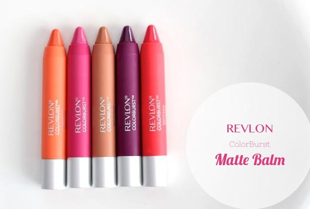 Revlon Color Burst Matte Balm Swatches in Unapologetic, Shameless, Showy, Complex, Mischievous