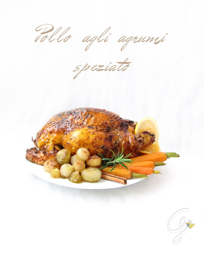 Pollo agli agrumi speziato - citrus spicy chicken